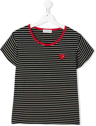 Sonia Rykiel ENFANT TEEN stripe print T-shirt