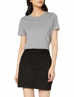 Dorothy Perkins Women's Suedette Patch Pocket Skirt