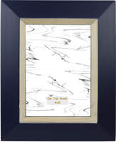 "Enchante 4"" x 6"" Navy Wooden Picture Frame"
