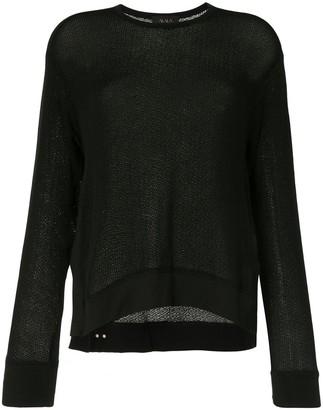 ALALA Crane knitted jumper