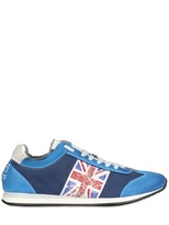 Ciaboo Uk Flag Studded Sneakers