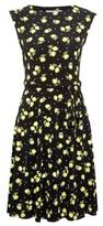 Dorothy Perkins Womens Billie & Blossom Multi Colour Lemon Print Dress
