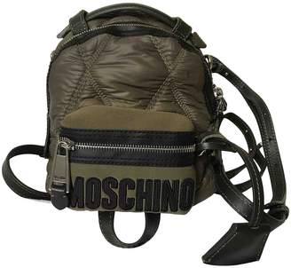 Moschino Green Synthetic Backpacks