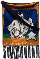 J.W.Anderson Baseball Card Knitted shoulder bag