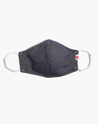 Madewell Hedley & Bennett Face Mask in Gray Oxford