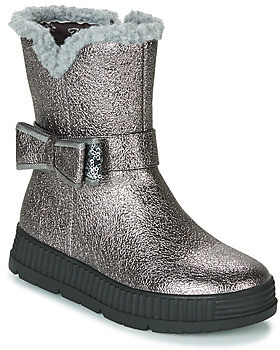 GIOSEPPO DIDDERSE girls's Mid Boots in Silver
