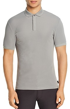 Giorgio Armani Emporio Stripe Polo Shirt