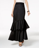 Long Tiered Maxi Skirt - ShopStyle