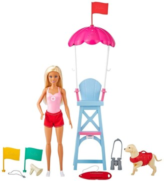 Mattel Barbie LIfeguard Doll & Playset