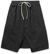 Rick Owens - Drkshdw Cotton Shorts