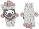 Accessorize Lined Pippa Penguin Capped Mittens