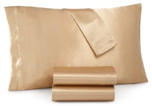 Sanders Royal Silky Satin 4-Pc. Queen Sheet Set Bedding
