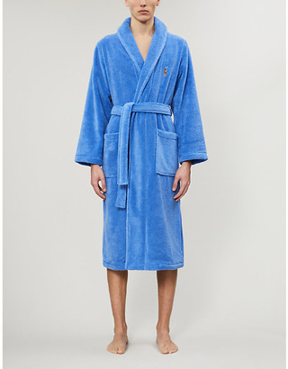 Polo Ralph Lauren Logo-embroidered terry dressing gown