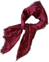 Alexander McQueen Purple Cotton Scarves