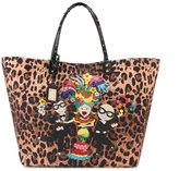 Dolce & Gabbana Beatrice leopard print tote