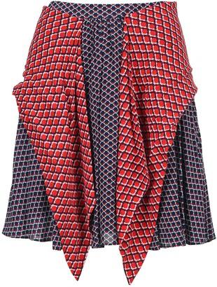 Kenzo Paneled Flared Skirt