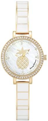 Tommy Bahama Women's White Pineapple Watch