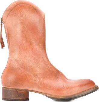 Cherevichkiotvichki Zipped Cowgirl Boots