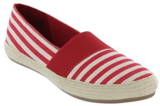 MIA AMORE Fabbiolla Stripe Espadrille Slip On Flat