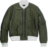 Haider Ackermann - Padded Shell Bomber Jacket