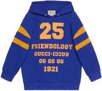 Gucci Children's 1921 'Friendology' sweatshirt