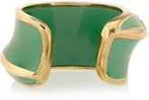 Marni Gold-plated enamel cuff