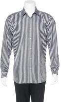 Robert Graham Herringbone Striped Shirt