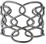 Catherine Malandrino Sterling Interlace Cuff Bracelet