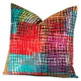 Crayola Etch 20-Inch Square Throw Pillow
