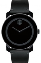 Movado 3600306 Men's Bold Black Leather Watch