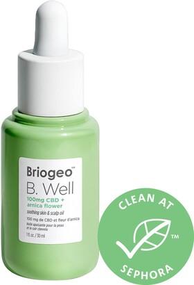 BRIOGEO B.Well 100mg CBD + Arnica Flower Soothing Skin & Scalp Oil