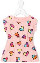 Moschino Kids - heart print dress - kids - Cotton/Spandex/Elastane - 3-6 mth