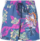 Etro floral print swim shorts - men - Nylon - XXL