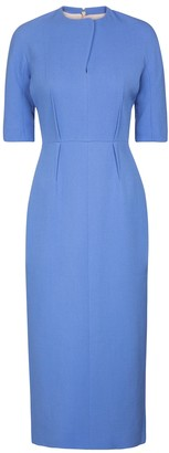Emilia Wickstead Exclusive to Mytheresa Tristia wool midi dress