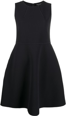 Emporio Armani sleeveless A-line mini dress