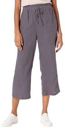 Hurley Bronte Beach Crop Pants (Thunder Grey) Women's Clothing