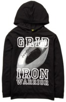 Crazy 8 Grid Iron Active Hooded Tee