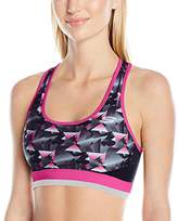 "Skechers Active Women's ""Triangle Dash Printed Sports Bra"
