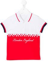 Burberry branded polo shirt