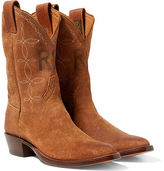 Ralph Lauren RRL Plainview Suede Cowboy Boot