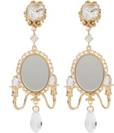 Dolce & Gabbana Mirror On The Wall Earrings