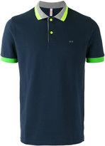 Sun 68 contrast polo shirt - men - Cotton/Spandex/Elastane - XL