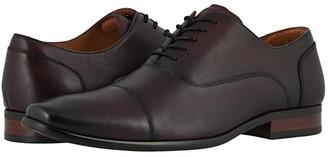 Florsheim Postino Cap Toe (Black Scratch Print) Men's Shoes