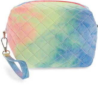 Bari Lynn Tie Dye Quilted Cosmetics Bag