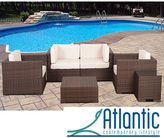 Atlantic Verona Off-white 6-piece Wicker Patio Set