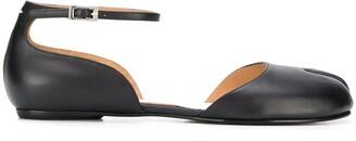 Maison Margiela Tabi ankle strap ballerina shoes