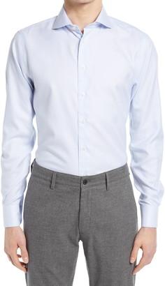Suitsupply Traveler Extra Slim Fit Stripe Dress Shirt