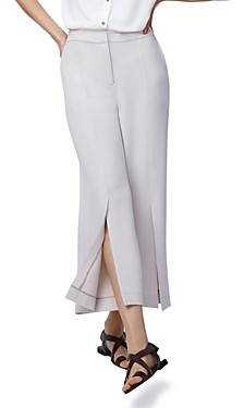 b new york Cropped Wide-Leg Pants