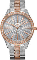 JBW Women's Crystal Diamond Stainless Steel Watch, 39mm