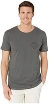 Salty Crew Tippet Short Sleeve Tee (Cool Grey) Men's T Shirt